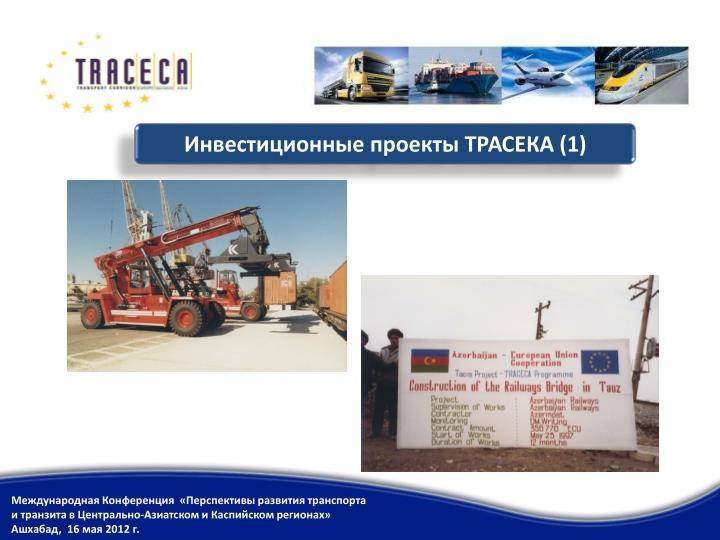 Инвестиционные проекты ТРАСЕКА (1)