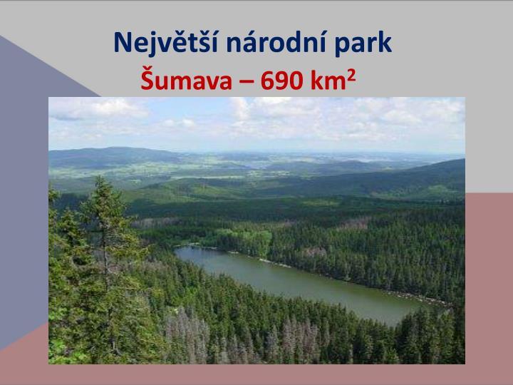 Největší národní park