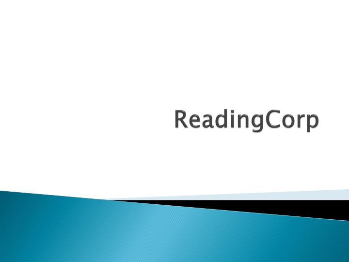 ReadingCorp
