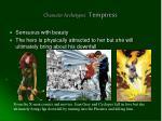 character archetypes temptress