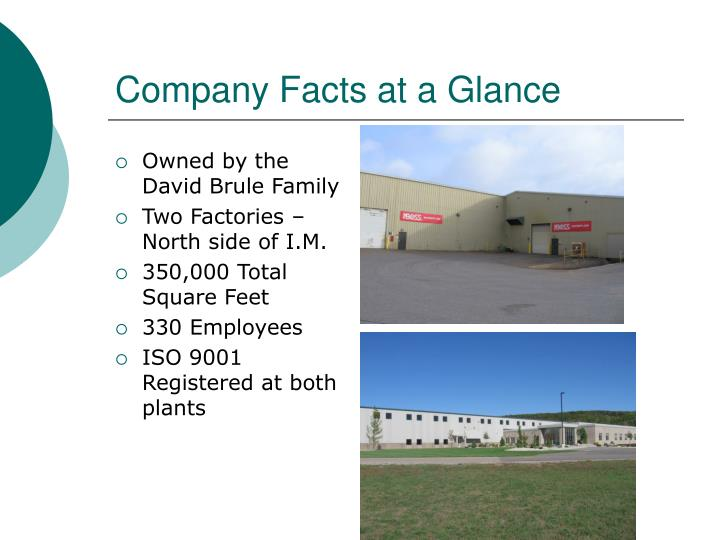 Company Facts at a Glance