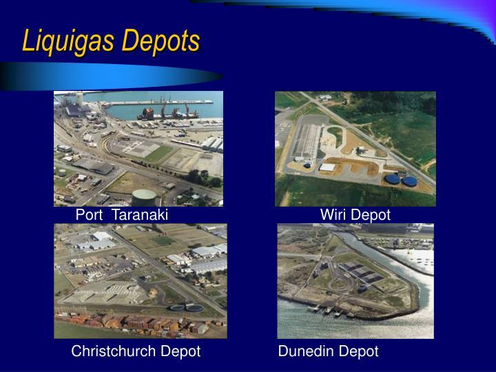 Liquigas Depots