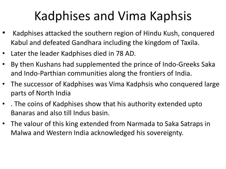 Kadphises and Vima Kaphsis