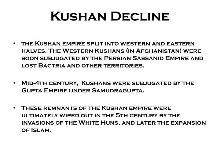 Kushan Decline