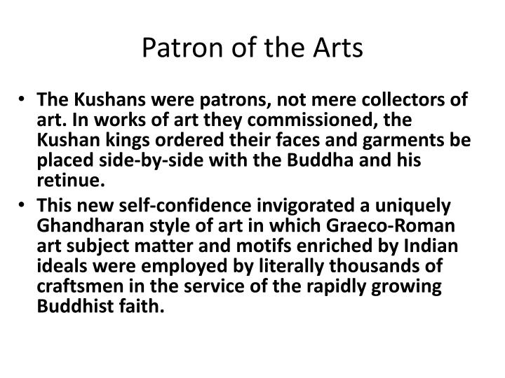 Patron of the Arts