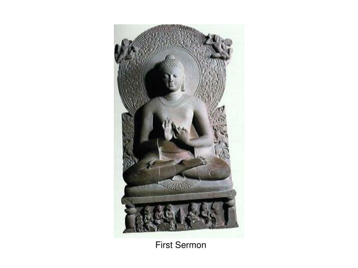 First Sermon
