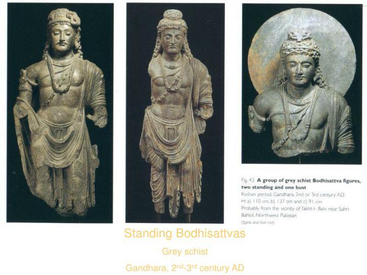 Standing Bodhisattvas