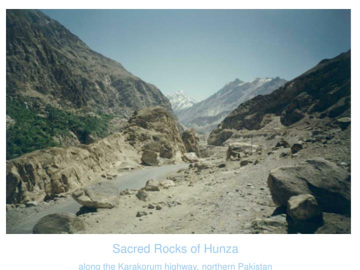 Sacred Rocks of Hunza