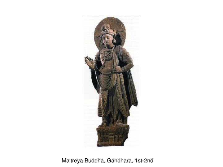 Maitreya Buddha, Gandhara, 1st-2nd