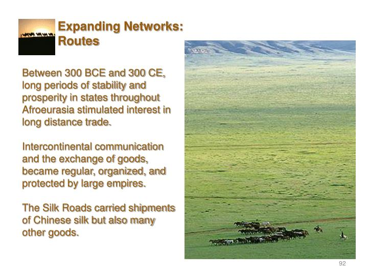 Expanding Networks: