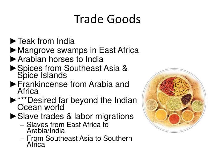 Trade Goods