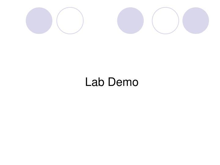 Lab Demo