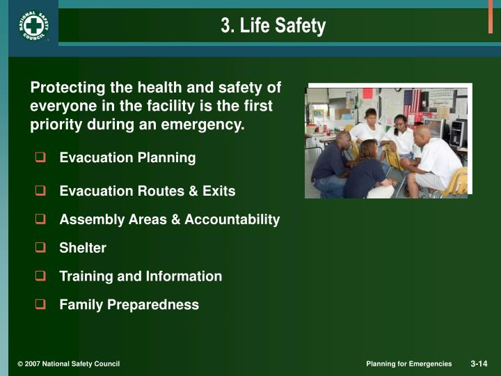 3. Life Safety