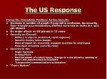 the us response