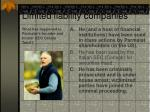 limited liability companies28
