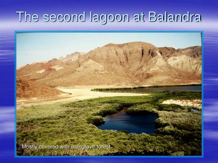 The second lagoon at Balandra