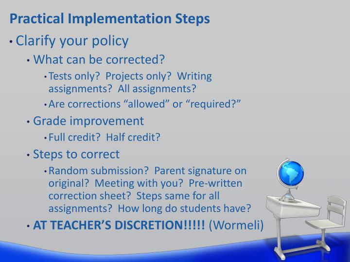 Practical Implementation Steps