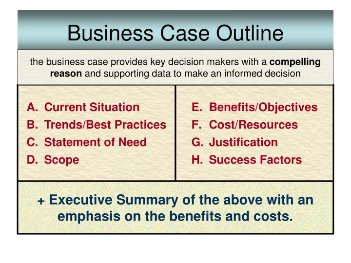 Business Case Outline