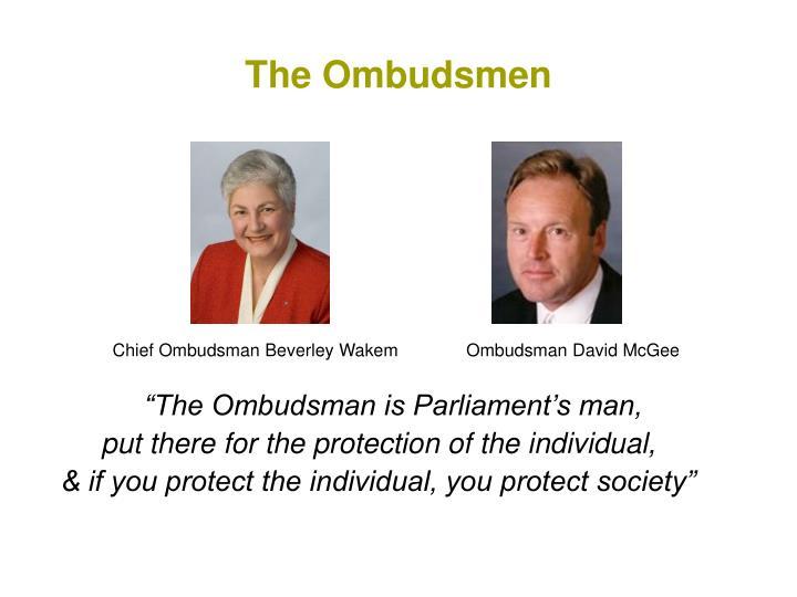The Ombudsmen