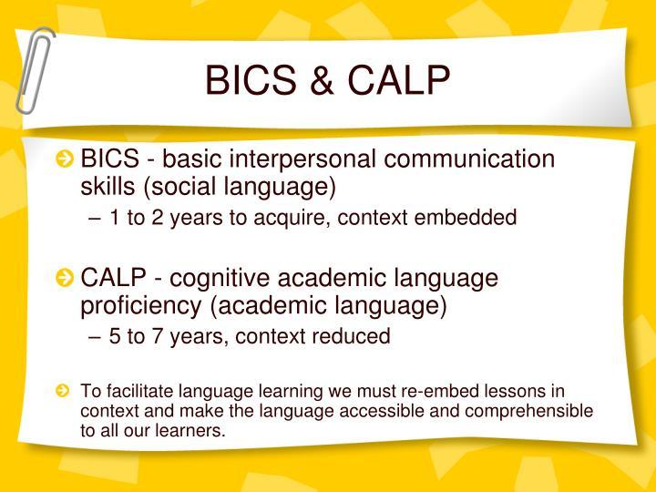 BICS & CALP