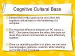 cognitive cultural base