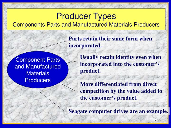 Parts retain their same form when