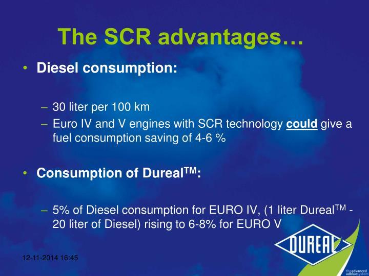 Diesel consumption: