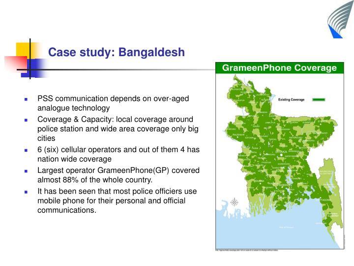 Case study: Bangaldesh