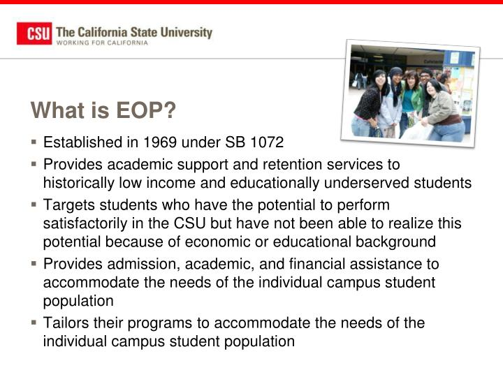 What is EOP?