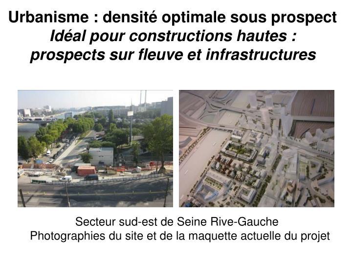 Urbanisme : densité optimale sous prospect