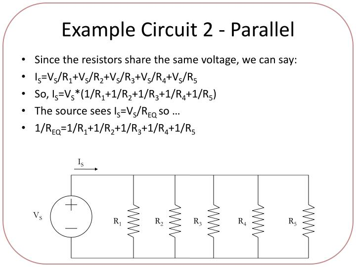 Example Circuit 2 - Parallel