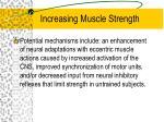 increasing muscle strength5
