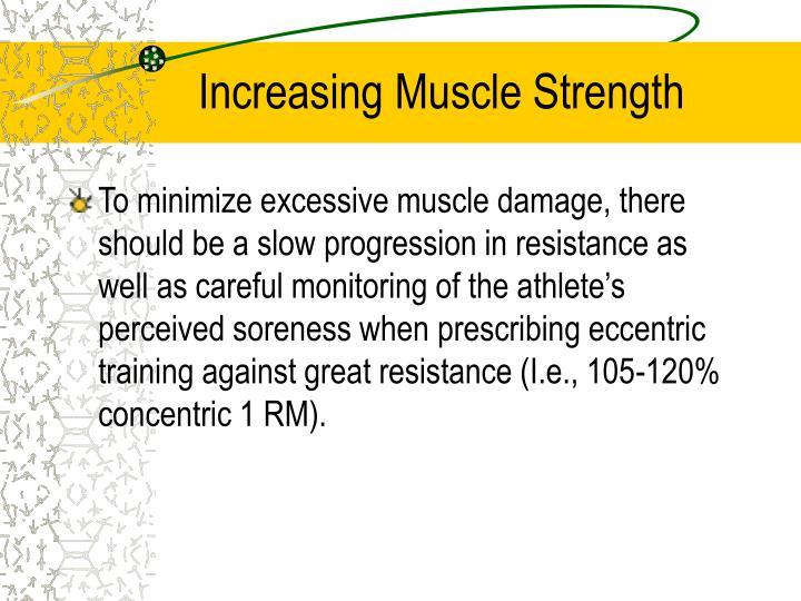 Increasing Muscle Strength