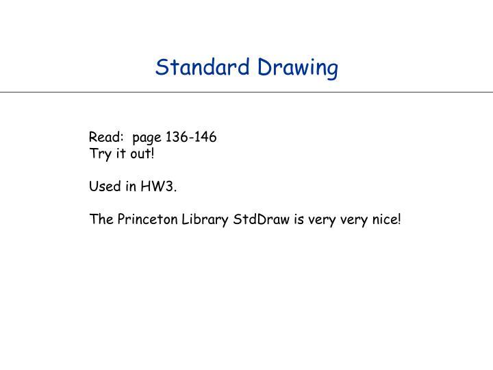 Standard Drawing