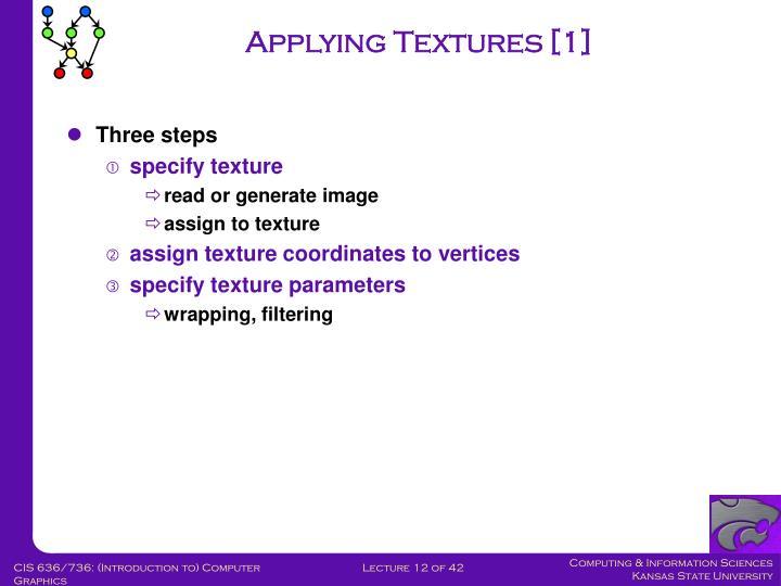 Applying Textures [1]