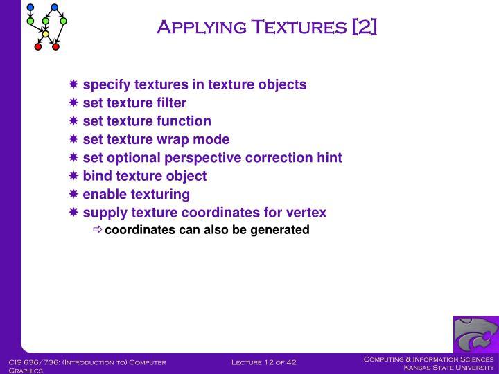 Applying Textures [2]
