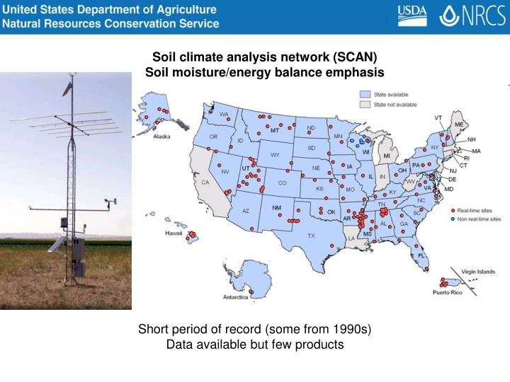 Soil climate analysis network (SCAN)