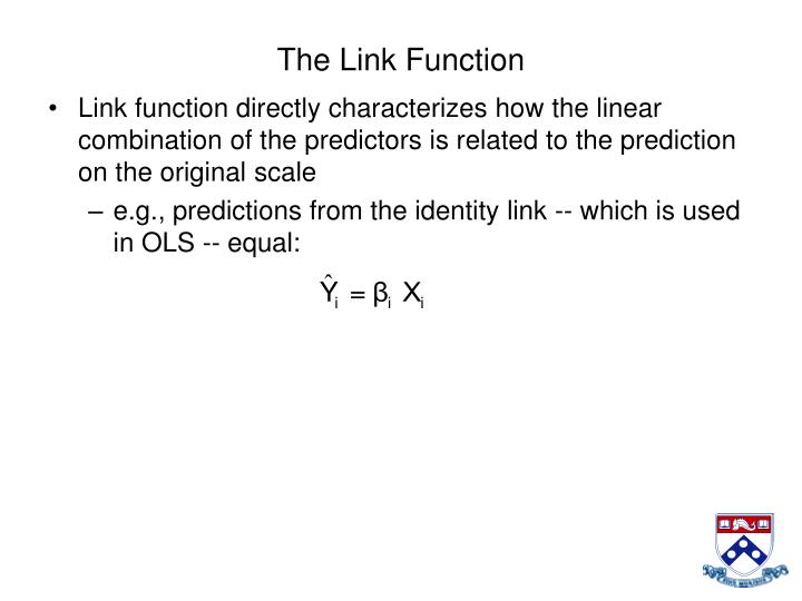 The Link Function