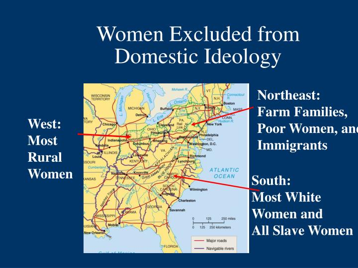 Women Excluded from Domestic Ideology