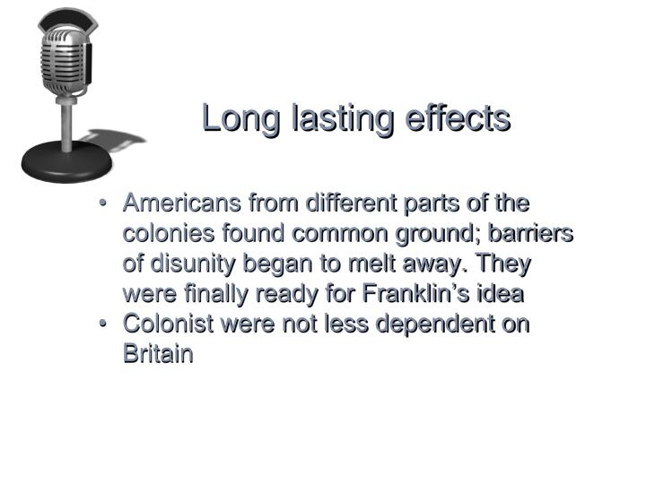 Long lasting effects