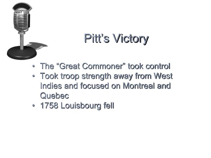 Pitt's Victory