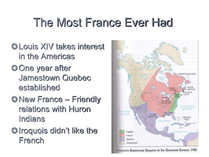The most france ever had