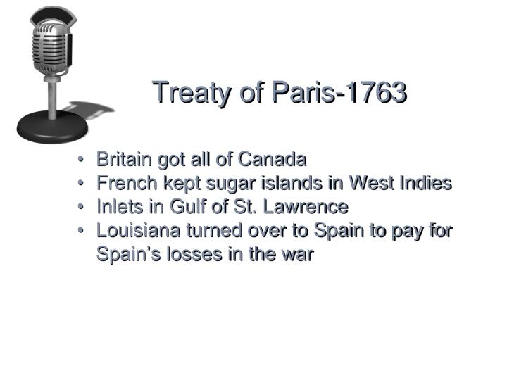 Treaty of Paris-1763