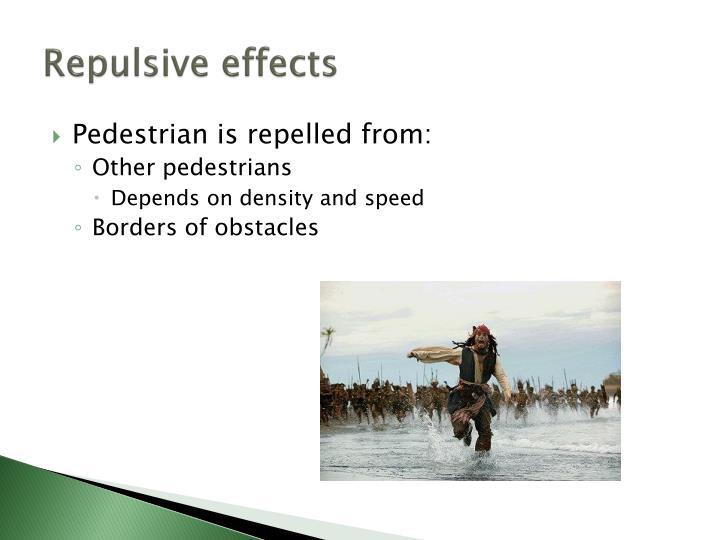 Repulsive effects