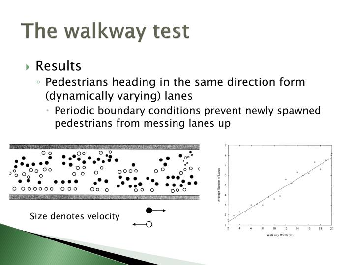 The walkway test