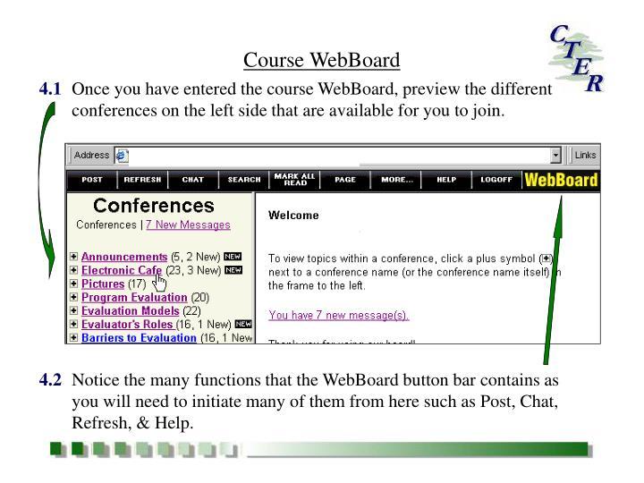 Course WebBoard