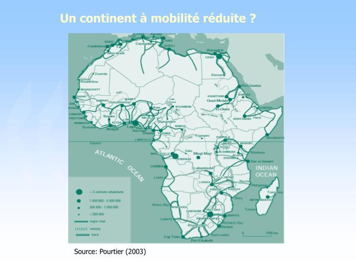 Un continent à mobilité réduite ?
