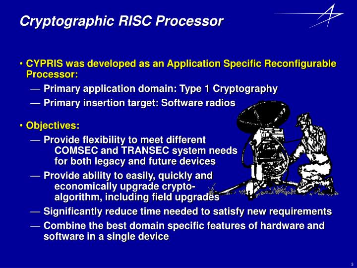 Cryptographic risc processor