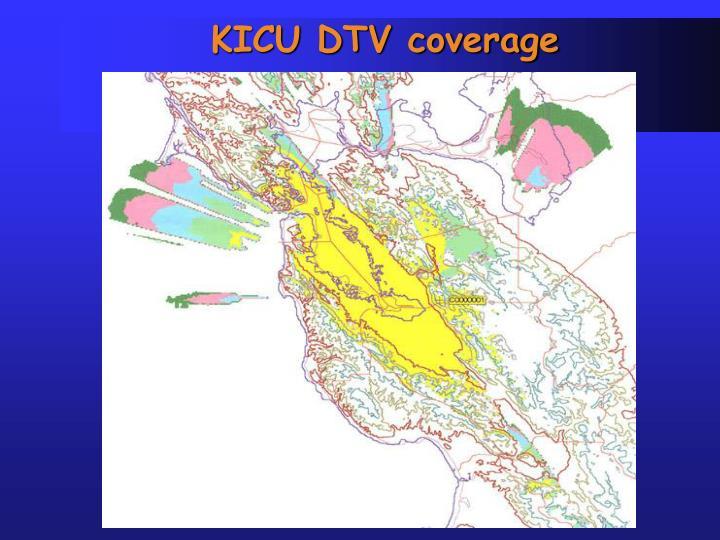 KICU DTV coverage