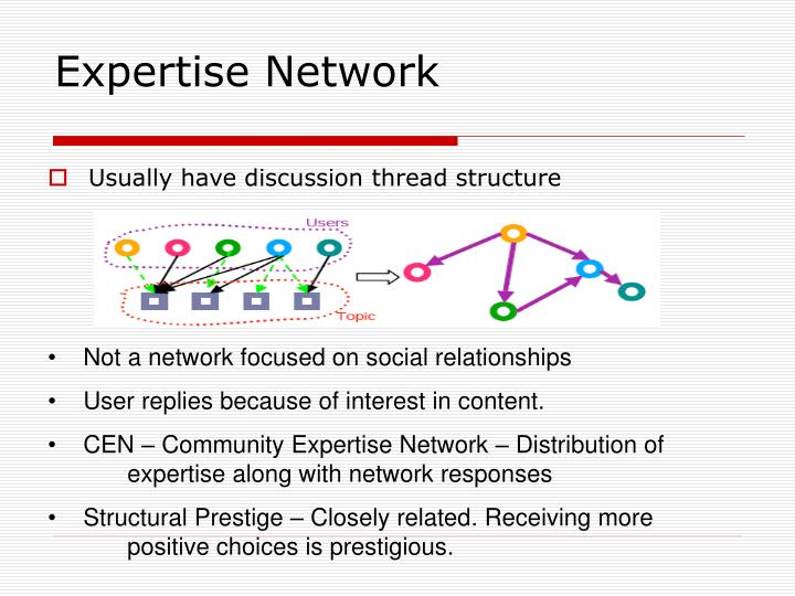 Expertise Network
